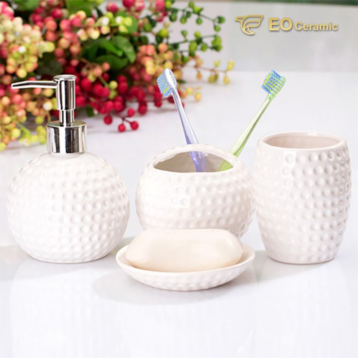 European Ceramic Bathroom Set