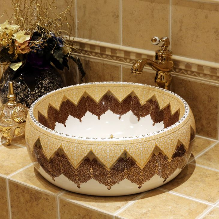 Luxury Ceramic Art Basin