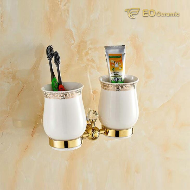 Luxury Ceramic Tooth Brush Holder