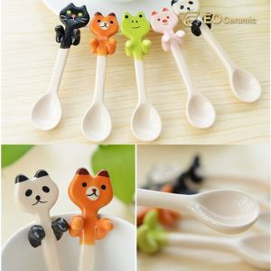 Animal Ceramic Coffee Spoon