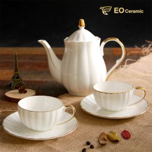 Bone China Ceramic Tea Pot