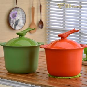 Ceramic Cooking Pot with Lid
