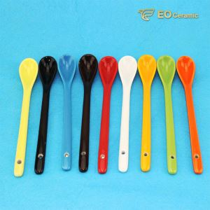 Colorful Ceramic Tea Spoon
