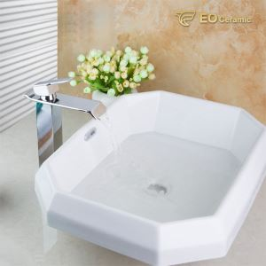 Prismatic Ceramic Wash Basin
