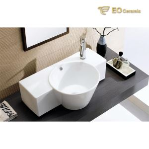 Round Wall Mounted Washbasin