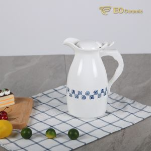 Simple Ceramic Water Pitcher