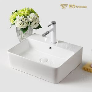 Square Ceramic Wash Basin