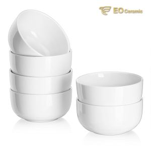 White Ceramic Bowl Set