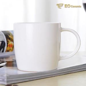 White Customized Ceramic Coffee Mug