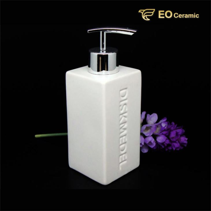 Square Ceramic Lotion Dispenser