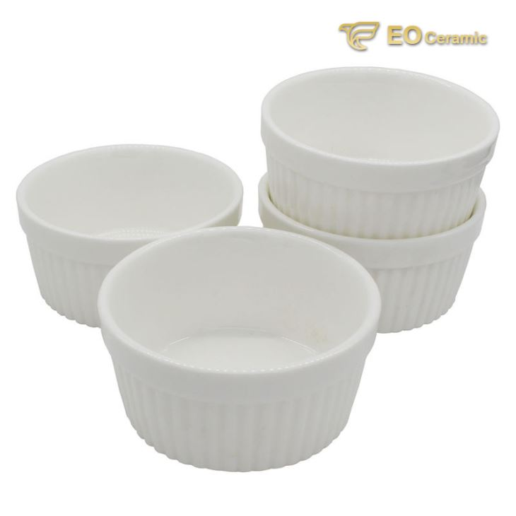 White Ceramic Ramekin