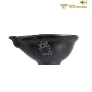 6 Inch Handle Porridge Rice Imitation Porcelain Bowl