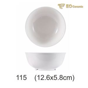 Breakfast Shop Imitation Porcelain Porridge Bowl