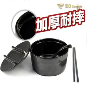 Large Imitation Porcelain Instant Noodle Bowl