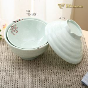Noodle Soup Rice Household Imitation Porcelain Bowl