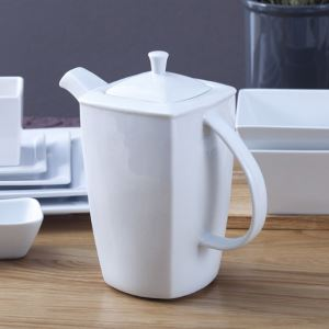 Solid Color Ceramic Pitcher